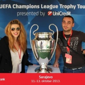 UNICREDIT UEFA Champions League Trophy Tour