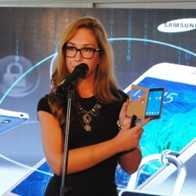 Promotion of new Samsung Galaxy Alpha