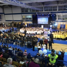 Svečano otvorenje sportske dvorane na Grbavici