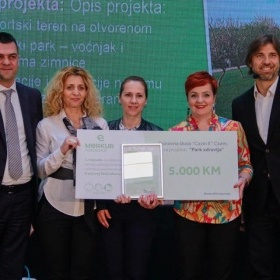 AWARD NIGHT FOR WINNING ELEMENTARY SCHOOLS WHO PARTICIPATED IN THE PROJECT ''IN HEALTHY SCHOOLS, HEALTHY KIDS''
